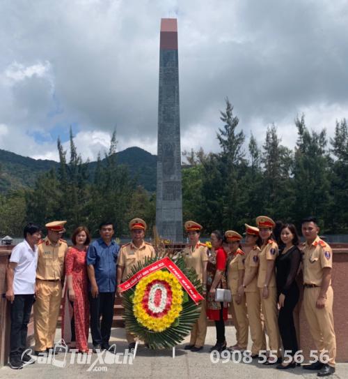 Chủ tịch BaloTuiXach cùng tham gia lễ dâng hương tưởng niệm các Anh hùng liệt sĩ tại Côn Đảo (1)