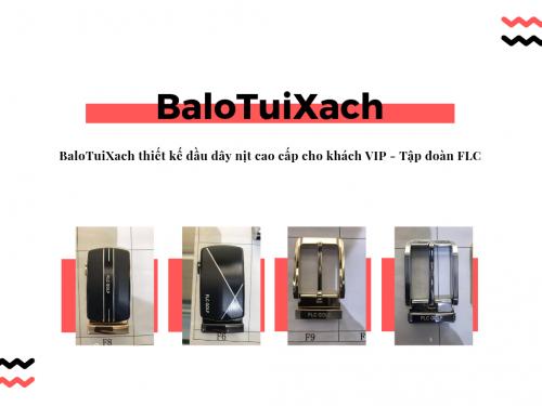BaloTuiXach thiết kế đầu dây nịt cao cấp cho khách VIP - Tập đoàn FLC, 513, Huyền Nguyễn, Balo túi xách, 18/03/2019 11:45:09