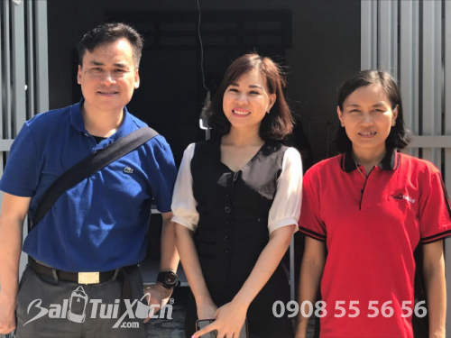 BaloTuiXach tiếp đón đối tác Hồng Kông tham quan Hệ thống phân xưởng sản xuất balo, túi xách (2)
