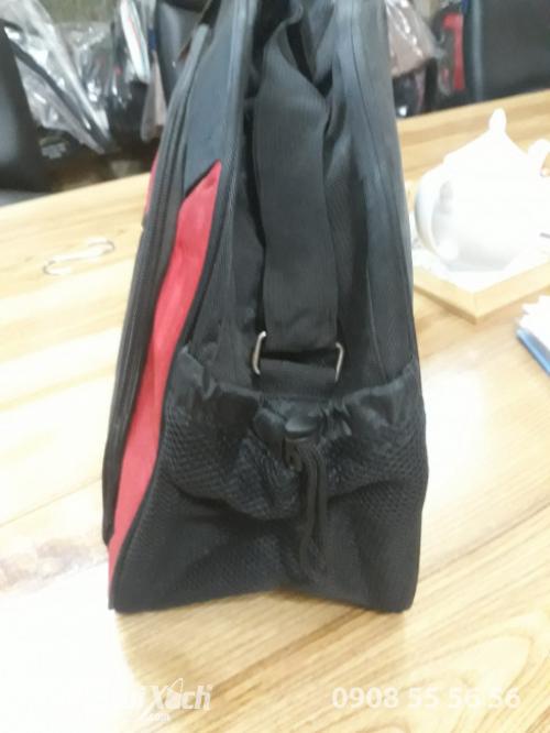 Túi du lịch vải dù - mặt bên