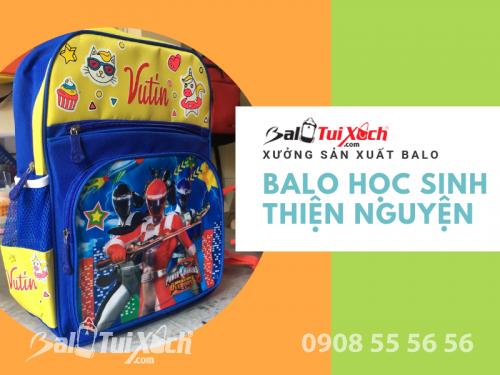 Xưởng sản xuất ba lo từ thiện - BaloTuiXach