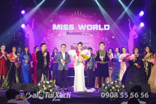 Nữ doanh nhân Thu Sương vinh dự đạt danh hiệu: Hoa hậu Áo dài Thế giới Doanh nhân 2019 - Tại Australia