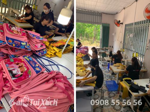 Xưởng sản xuất balo từ thiện - BaloTuiXach tại Đồng Nai