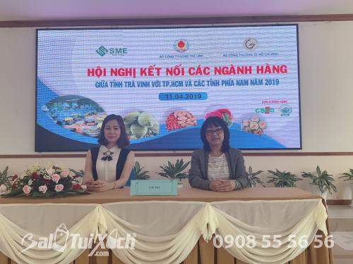 Doanh nhân Võ Thị Thu Sương tham dự Hội nghị kết nối các ngành hàng giữa tỉnh Trà Vinh với TP.HCM và các tỉnh phía nam năm 2019, 519, Huyền Nguyễn, Balo túi xách, 12/04/2019 15:49:19