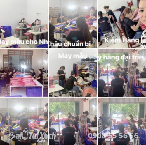Phân xưởng sản xuất cặp học sinh BaloTuiXach