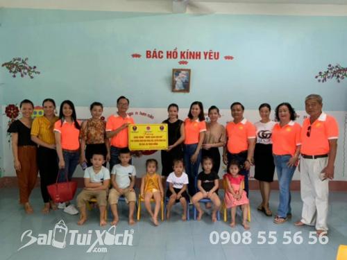 BaloTuiXach đồng hành cùng Sen Vàng Yêu Thương trao tặng Công trình