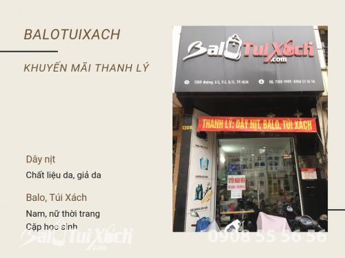 Thanh lý dây nịt, balo, túi xách từ BaloTuiXach, 544, Huyền Nguyễn, Balo túi xách, 08/08/2019 14:32:50
