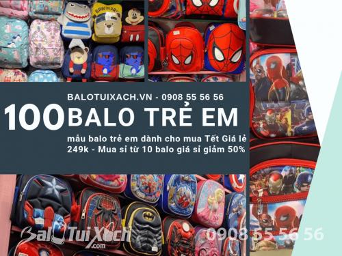 100 mẫu balo trẻ em dành cho mua Tết Giá lẻ 249k - Mua sỉ từ 10 balo giá sỉ giảm 50%, 563, Huyền Nguyễn, Balo túi xách, 16/10/2019 17:56:07