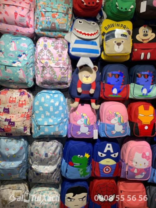 100 mẫu balo trẻ em dành cho mua Tết Giá lẻ 249k - Mua sỉ từ 10 balo giá sỉ giảm 50% - 11