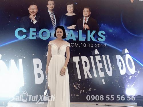 Chủ tịch B A Việt Nam tham dự sự kiện CEO Talks Đòn Bẩy Triệu Đô
