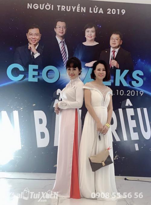 Chủ tịch B A Việt Nam tham dự sự kiện CEO Talks Đòn Bẩy Triệu Đô 1