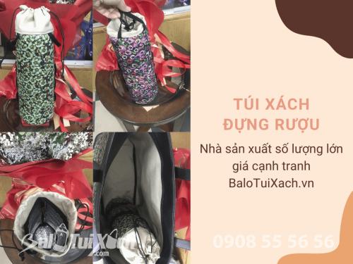 Nhà sản xuất túi xách đựng rượu hàng xuất khẩu đi Mỹ - BaloTuiXach, 579, Huyền Nguyễn, Balo túi xách, 16/12/2019 17:07:53