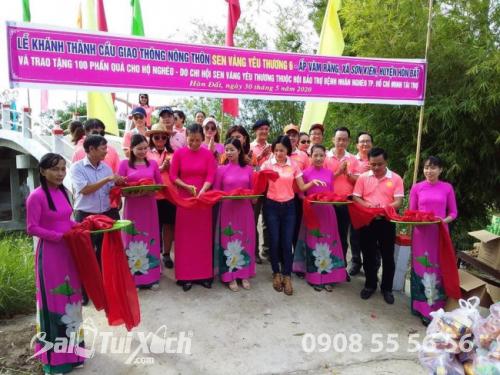 BA Việt Nam cùng hoạt động: Nối hai bờ bên hạnh phúc nhân đôi tại ấp Vàm Răng, xã Sơn Kiên, tỉnh Kiên Giang  - Ảnh: 1