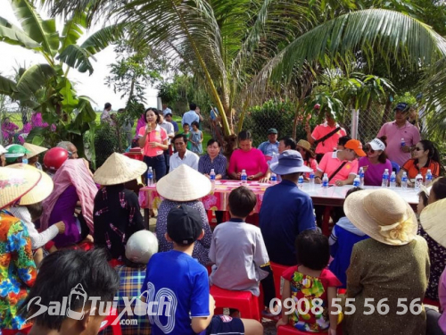 BA Việt Nam cùng hoạt động: Nối hai bờ bên hạnh phúc nhân đôi tại ấp Vàm Răng, xã Sơn Kiên, tỉnh Kiên Giang  - Ảnh: 4