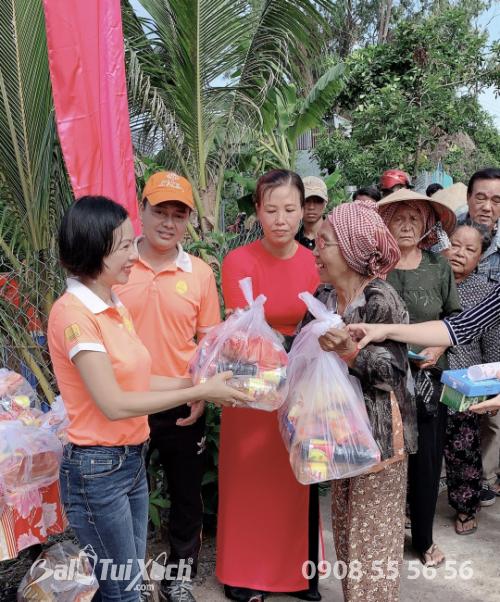 BA Việt Nam cùng hoạt động: Nối hai bờ bên hạnh phúc nhân đôi tại ấp Vàm Răng, xã Sơn Kiên, tỉnh Kiên Giang  - Ảnh: 7