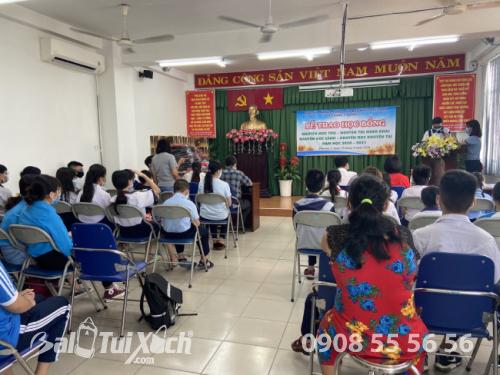 BaloTuiXach cùng Sương's House đồng hành cùng chương trình khuyến học phường 2, quận 11, TPHCM  - Ảnh: 8