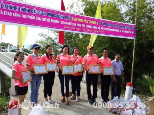 BA Việt Nam cùng hoạt động: Nối hai bờ bên hạnh phúc nhân đôi tại ấp Vàm Răng, xã Sơn Kiên, tỉnh Kiên Giang  - Ảnh: 5