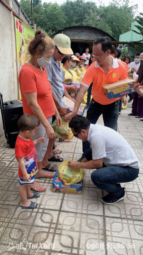 Chương trình tặng quà cho người nghèo mùa Vu Lan báo hiếu  - Ảnh: 7