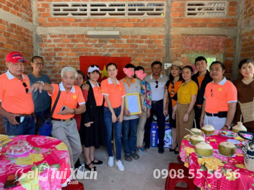 Xây ngôi nhà mơ ước: B&A Việt Nam trích quỹ vì cộng đồng - Nhà tình thương cho vợ chồng khó khăn tại Mỏ Cày Nam, tỉnh Bến Tre  - Ảnh: 2