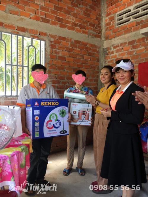 Xây ngôi nhà mơ ước: B&A Việt Nam trích quỹ vì cộng đồng - Nhà tình thương cho vợ chồng khó khăn tại Mỏ Cày Nam, tỉnh Bến Tre  - Ảnh: 4