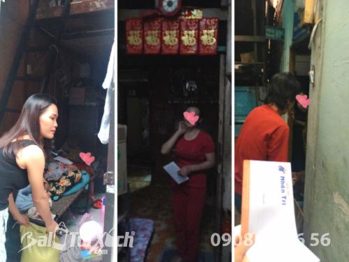 BaloTuiXach hạnh phúc khi được giúp đỡ hộ khó khăn trong phường 2, quận 11, TPHCM  - Ảnh: 4