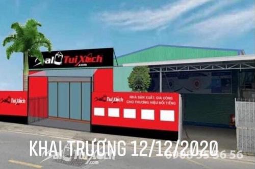 Hệ thống BaloTuiXach khai trương phân xưởng thứ 3 tại TPHCM, 608, Huyền Nguyễn, Balo túi xách, 14/12/2020 16:29:08
