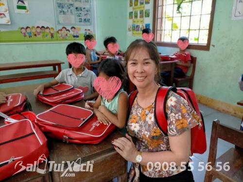 Sản xuất balo học sinh cho tổ chức thiện nguyện, từ thiện, hiệp hội học sinh, phụ huynh các trường mầm non, tiểu học quốc tế  - Ảnh: 2