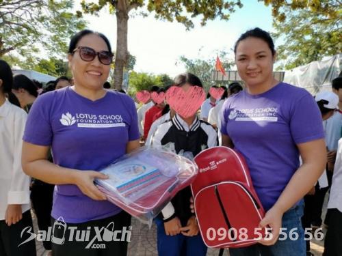 Sản xuất balo học sinh cho tổ chức thiện nguyện, từ thiện, hiệp hội học sinh, phụ huynh các trường mầm non, tiểu học quốc tế  - Ảnh: 6