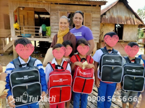 Sản xuất balo học sinh cho tổ chức thiện nguyện, từ thiện, hiệp hội học sinh, phụ huynh các trường mầm non, tiểu học quốc tế  - Ảnh: 7
