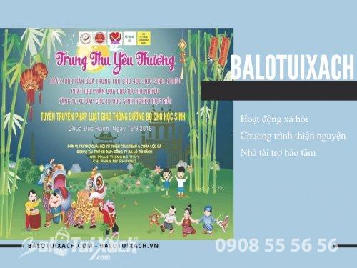 BaloTuiXach tài trợ 10 chiếc xe đạp cho chương trình Trung Thu Yêu Thương, 419, Huyền Nguyễn, Balo túi xách, 06/08/2019 17:14:04