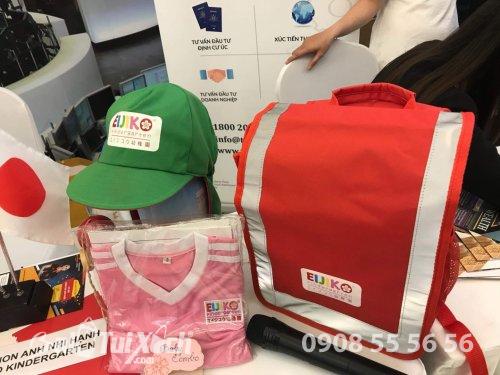 May balo & nón đồng phục học sinh trường mầm non EIJIKO Kindergarten - Mầm Non Anh Nhi Hạnh, 568, Huyền Nguyễn, Balo túi xách, 21/10/2019 10:14:31