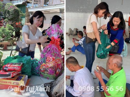 Tặng quà Tết cho hơn 300 bệnh nhân ở Cơ sở bảo trợ người tâm thần Trọng Đức tại Lâm Đồng, 485, Huyền Nguyễn, Balo túi xách, 30/01/2019 12:12:19