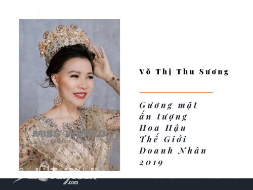 Tin Tức NTD đưa tin: Doanh nhân Võ Thị Thu Sương lọt Top thí sinh được chú ý tại Miss World Business 2018, 458, Huyền Nguyễn, Balo túi xách, 25/12/2018 13:42:41
