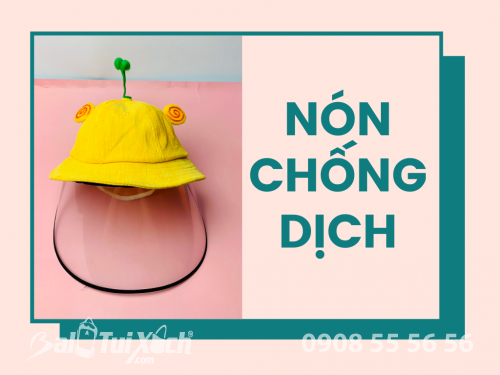 Xưởng may Nón chống dịch thiết kế nón chống dịch theo yêu cầu style, chất riêng, 584, Huyền Nguyễn, Balo túi xách, 27/03/2020 14:21:46